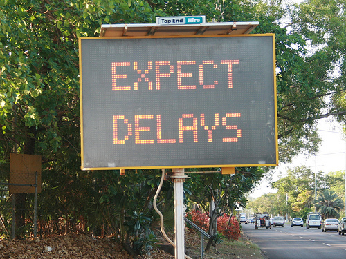 Expect Delays by Davidfntau